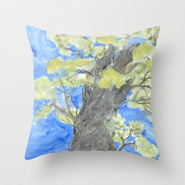 Storybook Tree Throw Pillow