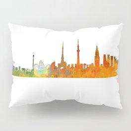 Tokyo City Skyline Hq V1 Pillow Sham