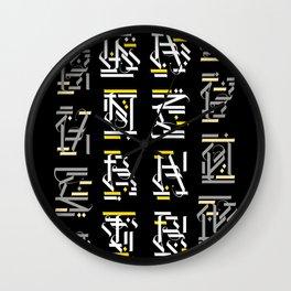 Luck/BadLuck Wall Clock