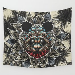 Panda Color Wall Tapestry