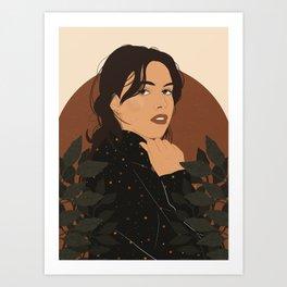 Starry Top Art Print