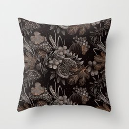 Sacred Species Pattern Throw Pillow