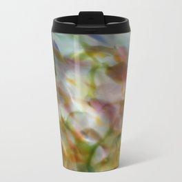 Abstract Dots Travel Mug