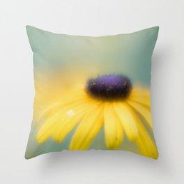 Dreamy Flower Throw Pillow