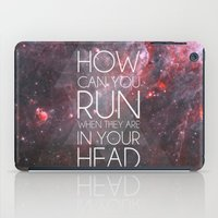 anxiety iPad Cases featuring Anxiety by Ruveyda & Emre