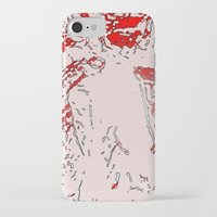 gore iPhone & iPod Cases featuring Gore by Jessica Slater Design & Illustration
