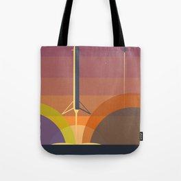 Falcon 9 Launch minimalist  Tote Bag