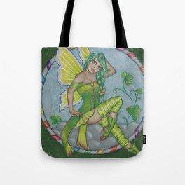 Shamrock Dance Fairy Tote Bag