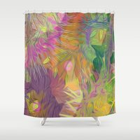 kindle Shower Curtains featuring alba by giancarlo lunardon
