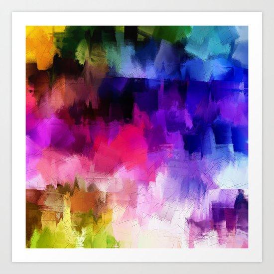 Pattern 2016 / 038 Art Print