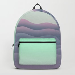 iso mountain sunset Backpack