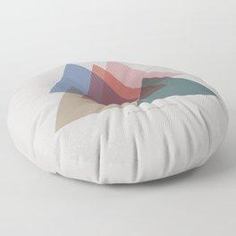 Rose Three Floor Pillow