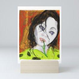 Korean creepy Mini Art Print