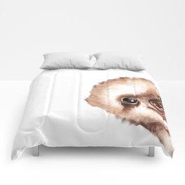 Sneaky Baby Sloth Comforters