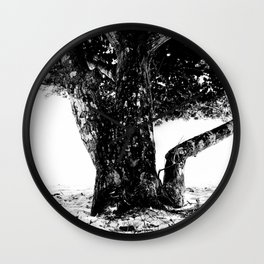 Big tree Wall Clock