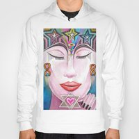 gift card Hoodies featuring Gift by LuxMundi