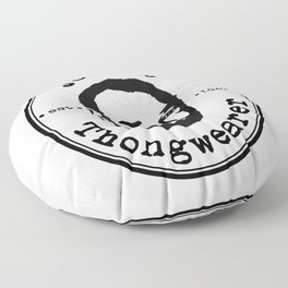 Johnny Thongwearer Floor Pillow