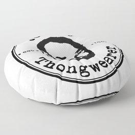 Johnny Thongwearer Floor Pillow