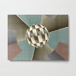 Graphically Digital Art Metal Print