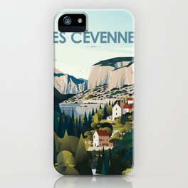 Alone in Nature - Les Cévennes iPhone Case
