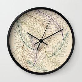 Fern Earthy  Wall Clock