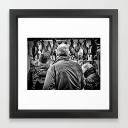 Which one should we get Dad ? Framed Art Print