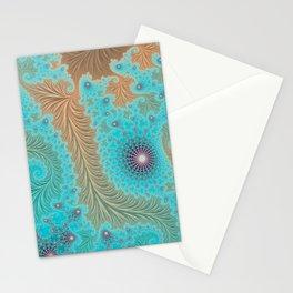Aquae - Fractal Art Stationery Cards