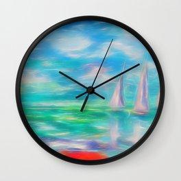 Emerald Morning Wall Clock
