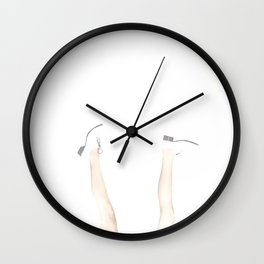 63 degrees in January, #mood Wall Clock
