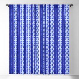 Shibori strips Blackout Curtain