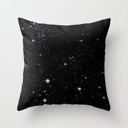 Nebula texture #42: Star Night Throw Pillow