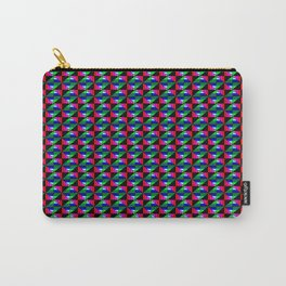 Digital Quilt Carry-All Pouch