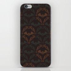 Bat Damask iPhone & iPod Skin