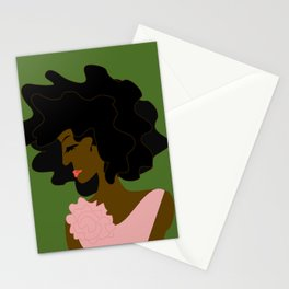 The Lady in Pink Stationery Cards