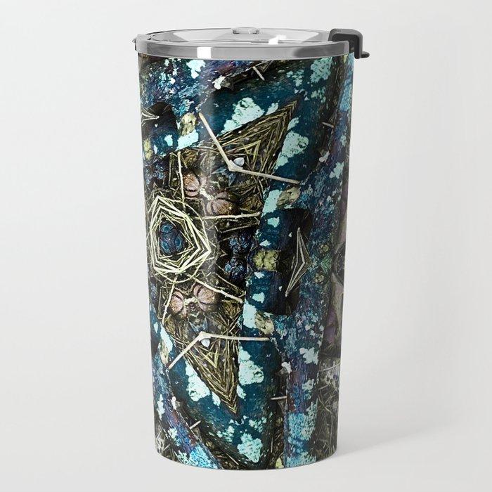 Blue Pine Travel Mug