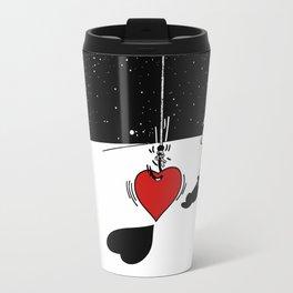 Alguien te Pescó el Corazón Travel Mug
