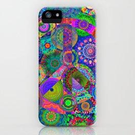 Hippies' Garden iPhone Case