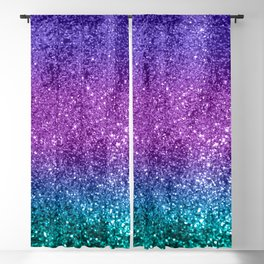 Unicorn Girls Glitter #10 #shiny #decor #art #society6 Blackout Curtain