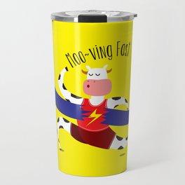 Moo~ving Fast Travel Mug