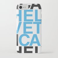 helvetica iPhone & iPod Cases featuring Helvetica  by Mackaays