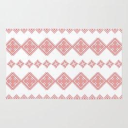 Pattern - Family Unit - Slavic symbol Rug