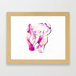Elephant II Framed Art Print