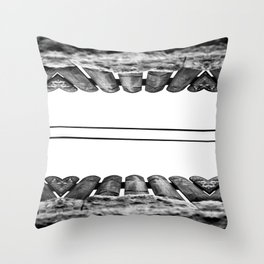 Our Love Throw Pillow