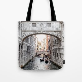 Bridge of Sighs, Venice, Italy (Lighter Version) Tote Bag