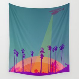 Into the Night Wall Tapestry