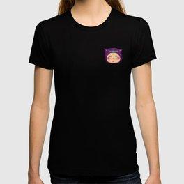 alice purple cat T-shirt