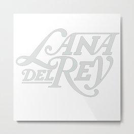 lana del ray logo Metal Print