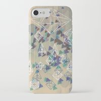 crystals iPhone & iPod Cases featuring crystals by Sil-la Lopez