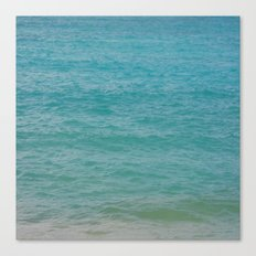 Maui: Aqua Canvas Print