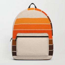Golden Spring Stripes Backpack